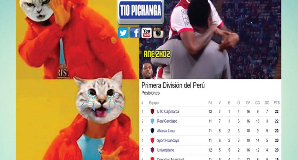 Sporting Cristal empató 1-1 con Universitario de Deportes.