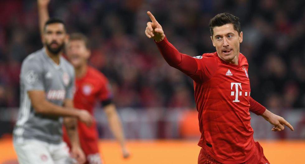 1. Robert Lewandowski - Bayern - 39 goles (AFP)