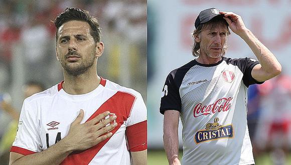 """Ricardo Gareca sobre declaraciones de Pizarro: """"Siempre es una opinión importante"""""""
