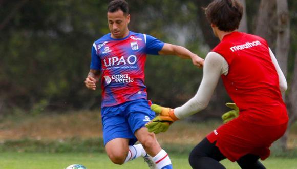 Guastavino anotó en goleada sobre reserva de la 'U'. (Prensa Mannucci)