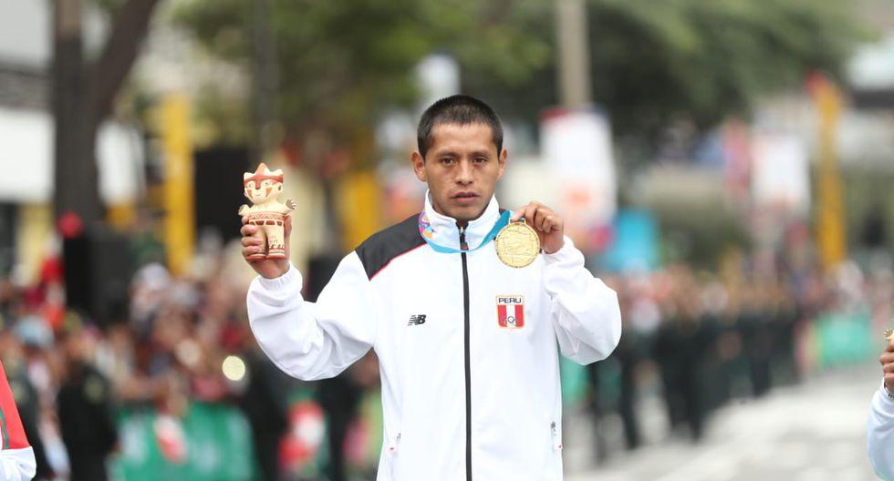 Christian Pacheco: Medalla de oro en Maratón masculina. (Foto: Giancarlo Avila / GEC)