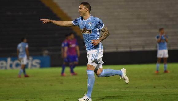 Emanuel Herrera volvió a anotar y es el máximo artillero del campeonato. (Foto: Sporting Cristal)