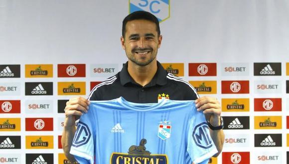 Alejandro González defendió la camiseta de Sporting Cristal en el 2009 (Foto: Sporting Cristal)