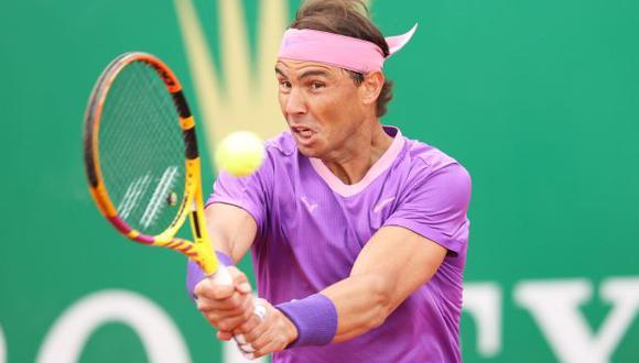 Rafael Nadal venció a Dimitrov y avanzó a cuartos de final del Masters 1000 de Montecarlo. (Twitter)