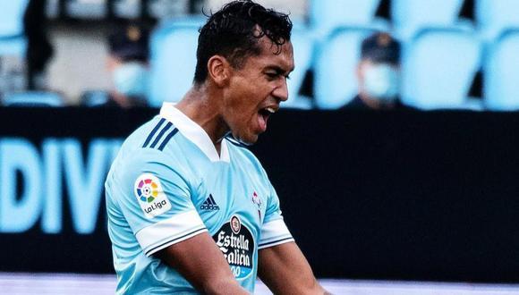Renato Tapia se lesionó en el partido ante Levante el pasado viernes. (Foto: Celta de Vigo)