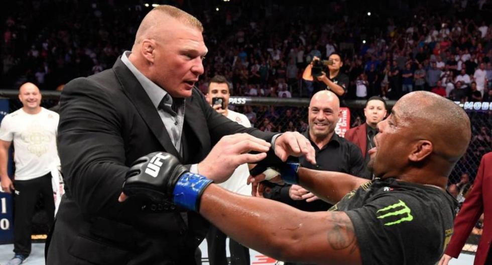 """Dana White le cierra las puertas a Brock Lesnar: """"No lo veo regresando a UFC, más con una edad avanzada"""""""