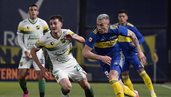 En un partido muy disputado, Boca dejó dos puntos como local ante Defensa y Justicia. (Foto: Boca Juniors)