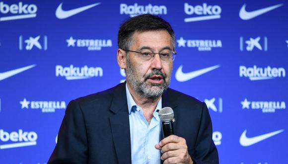 Josep Maria Bartomeu se defendió de las críticas por su gestión del FC Barcelona. (Foto: AFP)