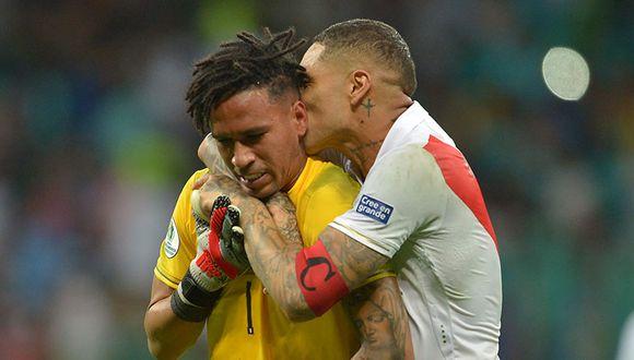 Pedro Gallese fue el protagonista en la pasada Copa América tras atajar un penal de Luis Suárez. (Agencias)
