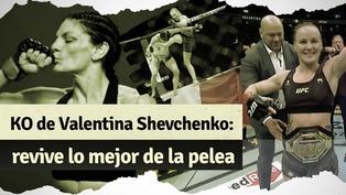 Valentina Shevchenko venció con un impactante nocaut a Lauren Murphy
