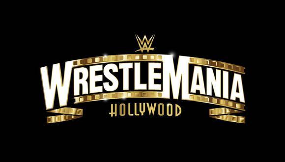 El logo de WrestleMania 37. (Foto: WWE)