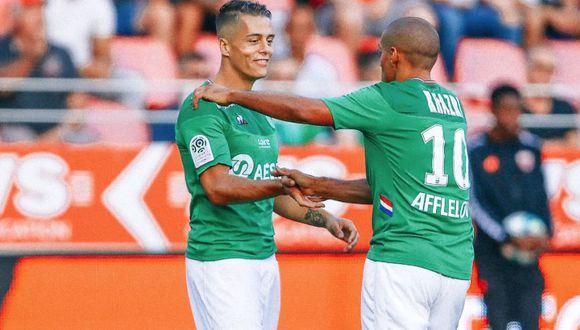 Saint-Étienne venció 2-1 a Dijon por la jornada 1 de la Ligue 1