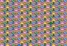 Debes hallar los hongos sin manchas blancas en la imagen: solo un 3 % superó este acertijo visual