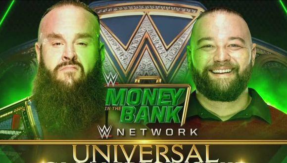 Póster oficial de la pelea. (Foto: WWE)