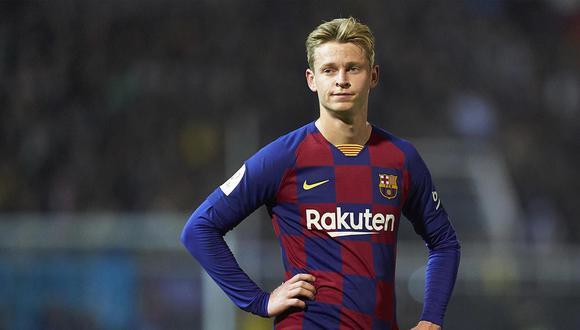 Frenkie de Jong formará parte de equipo catalán para el choque de vuelta ante Napoli.