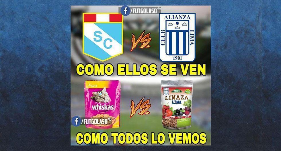 Alianza Lima vs. Sporting Cristal: los memes ya hacen de las suyas en las redes sociales. (FACEBOOK)