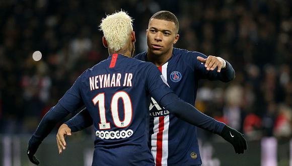 El PSG de Neymar y Mbappé fue decretado como campeón de la Ligue 1. (Foto: Getty Images)