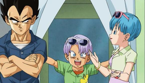 Dragon Ball   Vegeta junto a su familia