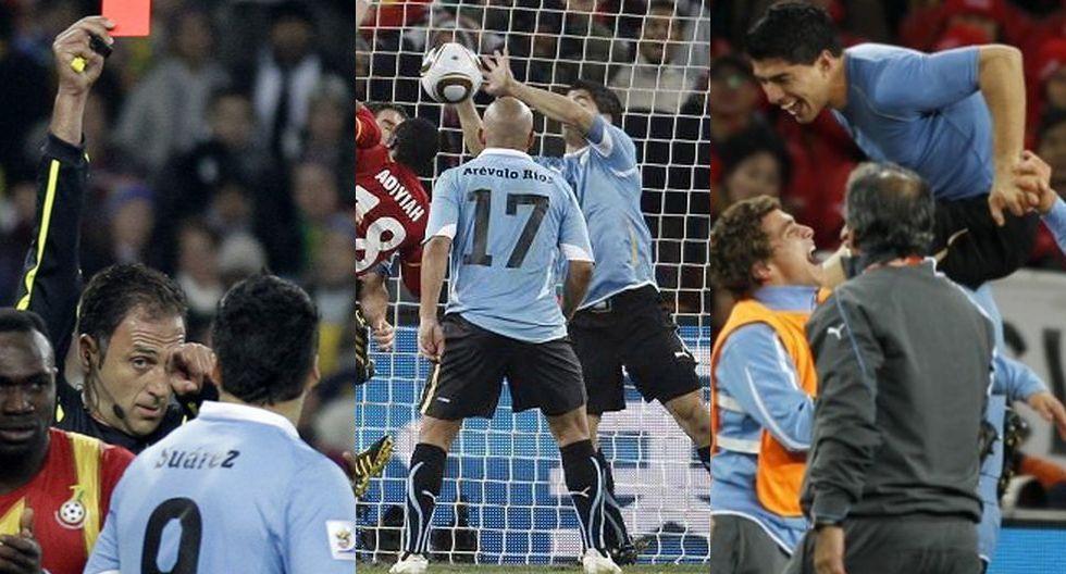 Imposible de olvidar: se cumplen 10 años de la mano de Suárez en el Uruguay vs. Ghana de Sudáfrica 2010 [VIDEO]