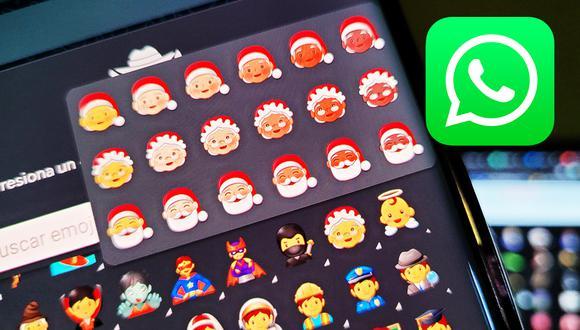 ¿Quieres tener los nuevos emojis de Navidad en WhatsApp? Usa este sensacional método. (Foto: Depor)