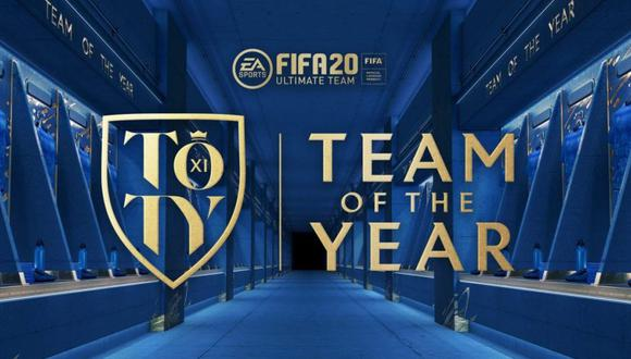 FIFA 20: estos son los jugadores que integran los TOTY de Ultimate Team.