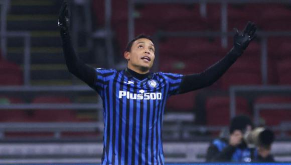 Luis Muriel tiene 2 goles en la presente edición de la Champions League. (Foto: AFP)