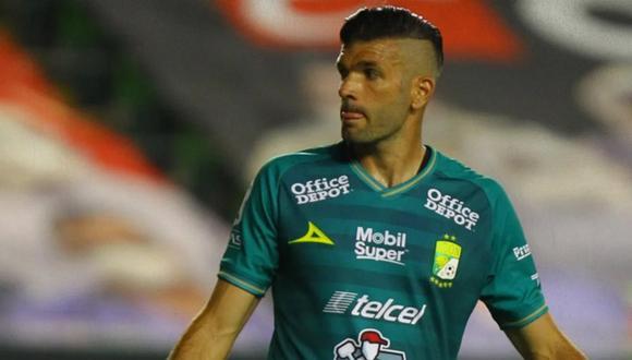 Emmanuel Gigliotti anotó uno de los goles con los que León se coronó campeón de la Liga MX 2020 (Foto: Pinterest)