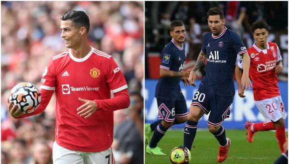 Cristiano Ronaldo y Lionel Messi tendrán distintos destinos al final de la temporada, según estudios. (Fotos: Agencias)