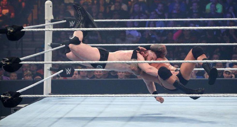 Víctima: Sheamus. (WWE)