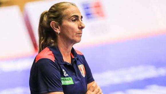 Natalia Málaga es la actual entrenadora de la selección peruana de vóley Sub 18 y Sub 20. (Instagram Natalia Málaga)