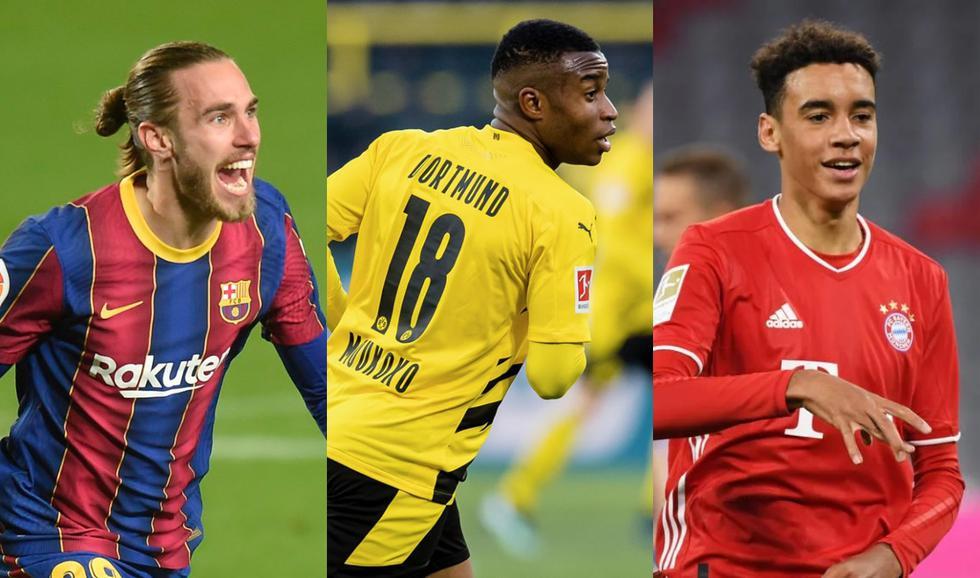 Futuras estrellas que debutaron en primera división esta temporada. (Fotos: Agencias)