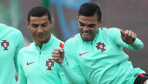 Pepe recordó tres historias con Cristiano Ronaldo. (Foto: Getty Images)