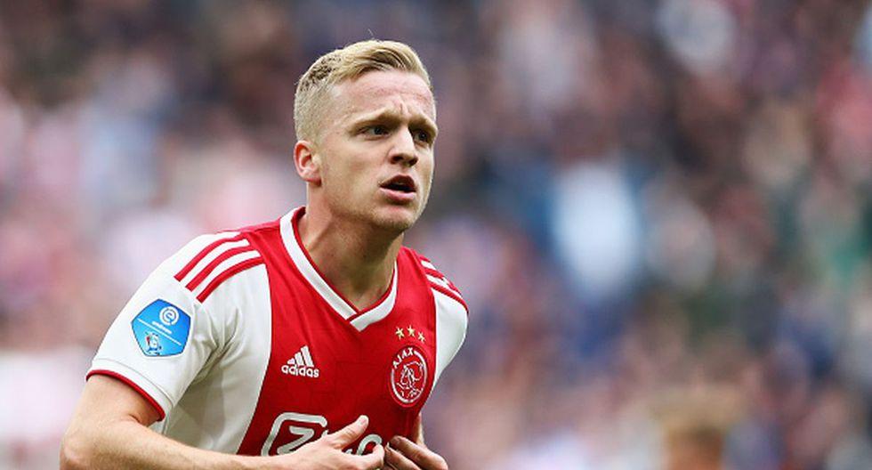 Donny van de Beek es uno de los jugadores más prometedores del Ajax y del mundo en la actualidad. (Foto: Getty Images)