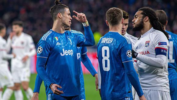 En la ida, Lyon venció por 1-0 a la Juventus en Francia. (Foto: Getty Images)