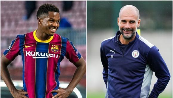 Ansu Fati tiene contrato con el FC Barcelona hasta mediados de 2022. (Getty)
