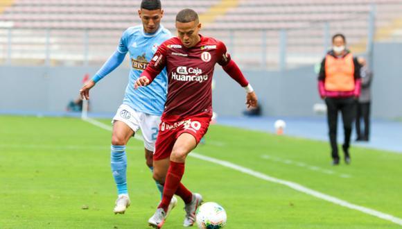 Donald Millán jugó los 90 minutos en el duelo ante Sporting Cristal. (Foto: Liga 1).