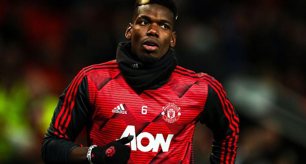 Paul Pogba juega la que sería su última campaña en Manchester United. (Foto: Getty Images)