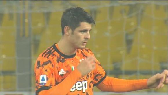 Álvaro Morata regresó esta temporada a la Juventus procedente del Atlético de Madrid. (Fuente: Faster Goal)