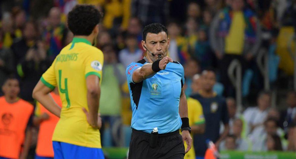 Roberto Tobar se refiere al trabajo durante la final de la Copa América 2019. (Foto: AFP)