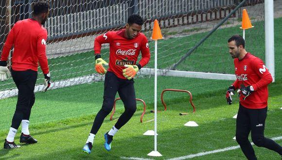 Selección Peruana tiene su segundo entrenamiento. (Daniel Apuy)