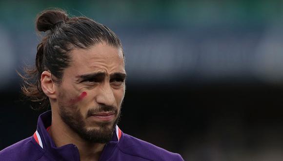 Martín Cáceres juega como defensa en la Fiorentina de la Serie A italiana. (Foto: Getty Images)