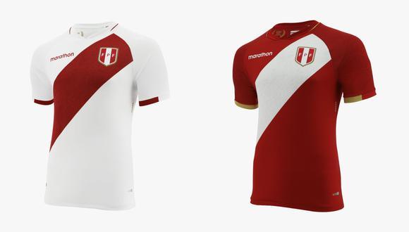 Así luce la nueva camiseta de la Selección Peruana. (Captura)