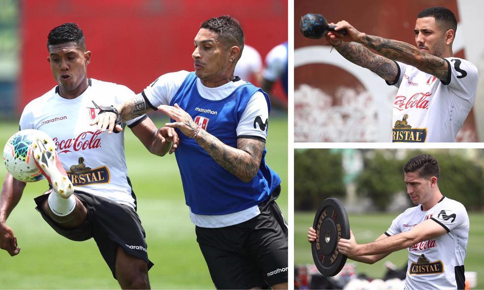 La selección peruana trabajó con plantel completo. (Foto: FPF)