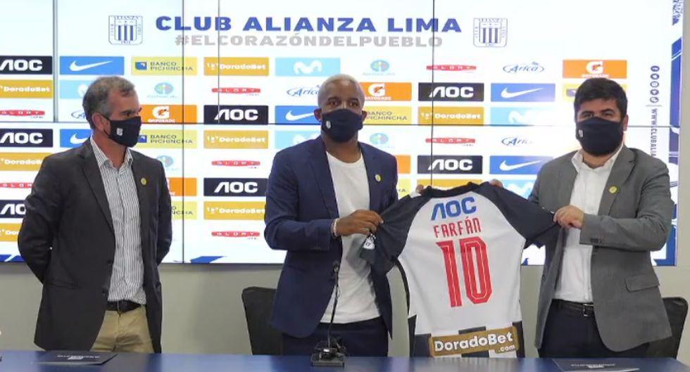 Jefferson Farfán – 36 años - Alianza Lima. (Foto: prensa AL)