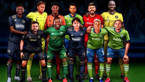 Ruidíaz es parte del 'Dream Team' de la MLS. (Diseño: MLS)