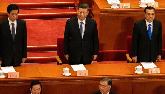 China realizó su Comité Nacional dando una muestra de que superaron la epidemia. (Getty)