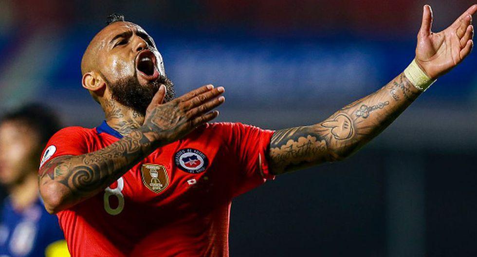 Perú vs. Chile: Arturo Vidal habló en la previa de las semifinales por la Copa América. (Foto: Getty Images)