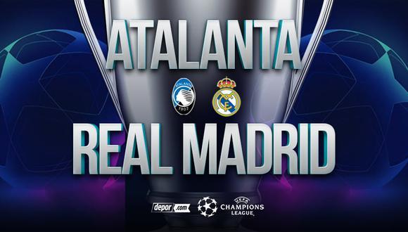 Real Madrid vs. Atalanta EN VIVO: minuto a minuto desde Bérgamo por Champions League