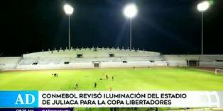 Juliaca alista estadio para recibir a River y Sao Paulo