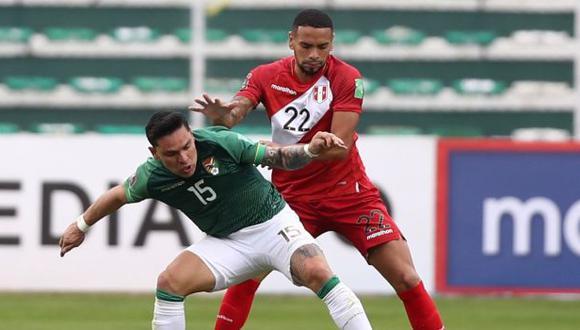 Alexander Callens jugó los 90 minutos ante Bolivia en La Paz. (Foto: FPF)